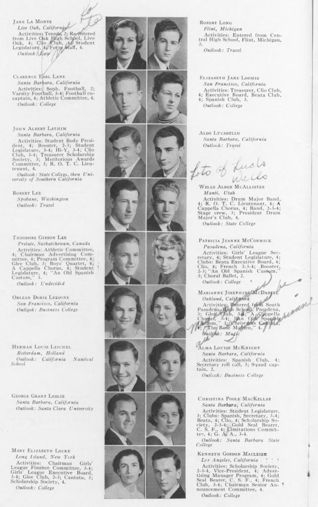 Jane-La-Monte-Yearbook